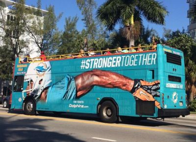 Miami-Dolphins-Double-Decker-Bus